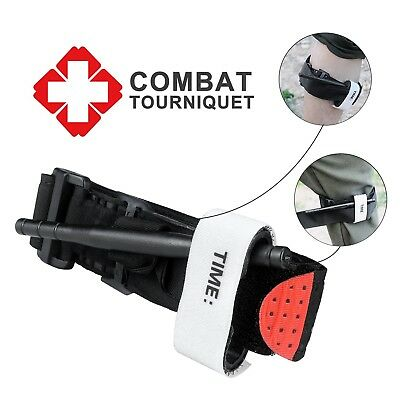Combat Tourniquet Rescue During Military Hiking and Emergency First Aid Life Sav