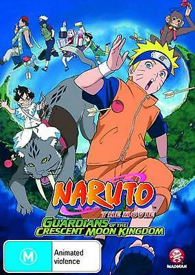 Naruto: the Movie 3 - Guardians of the Crescent Moon Kingdom - DVD Region 4 Free