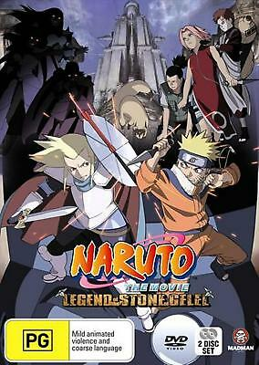 Naruto: the Movie 2 - Legend of the Stone of Gelel - DVD Region 4 Free Shipping!