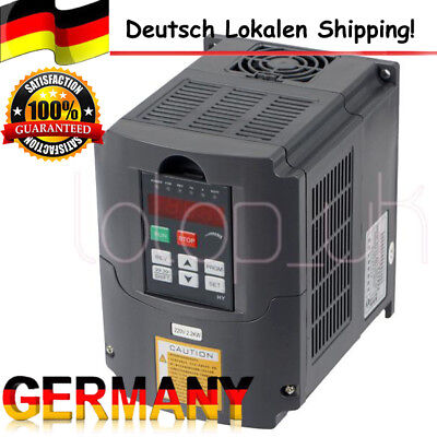 2.2Kw 220V 3Hp 10A Variable Frequency Drive Inverter Vfd Speed Control Ce De Dhl