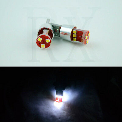 4PCS CANBUS T10 Wedge 3535 9SMD Parker Number Plate LED Bulbs W5W 194 168 WHITE