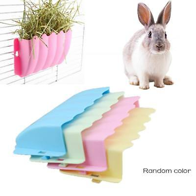 Small Pet Hay Lettuce Grass Manger Rack Feeder Rabbit Cage Hanging Feeder Bowl