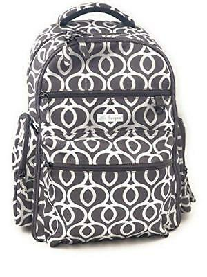 NEW!  Diaper Bag Backpack W/changing Pad-stroller Straps-insulated Pockets- S...