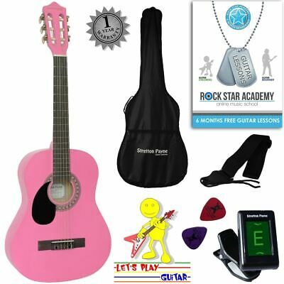 CLEARANCE - Graded AB Left Hand Acoustic Guitar Package 3/4 Sized (36' inch) Cla