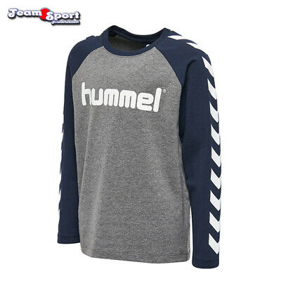 Hummel Boys T-Shirt Long - Kinder / Fitness Freizeit Handball / Art 201164-2800