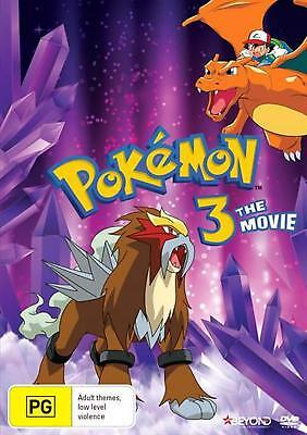 Pokemon - Spell Of The Unknown : Movie 3 - DVD Region 4 Free Shipping!