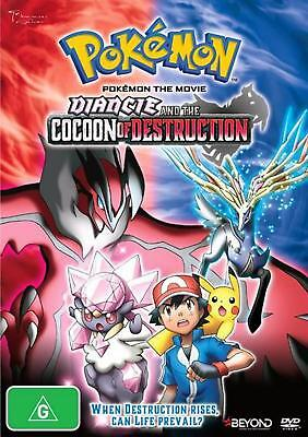 Pokemon The Movie - Diancie And The Cocoon Of Destruction - DVD Region 4 Free Sh