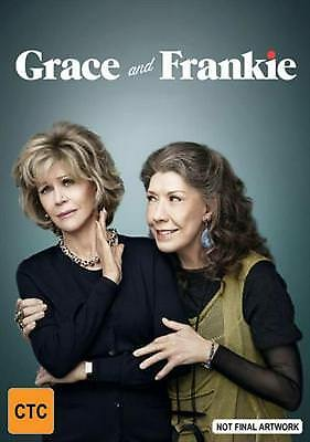 Grace And Frankie: Season 2 - DVD Region 2,4,5 Free Shipping!