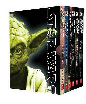 Star Wars Movie Novel Box Set by Patricia C. Wrede Paperback Book Free Shipping!
