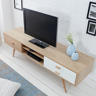 design tv lowboard onyx weiss hochglanz glas eiche 160 cm fernsehtisch eur 299 95 picclick de. Black Bedroom Furniture Sets. Home Design Ideas