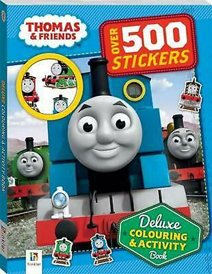 Thomas and Friends Deluxe Colouring and Activity Book Paperback Book Free Shippi