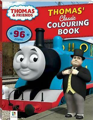 Thomas and Friends Thomas' Classic Colouring Book Paperback Book Free Shipping!