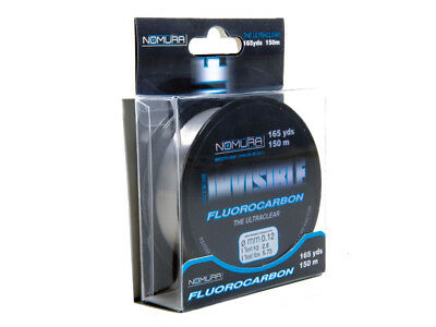 Nomura Fluorocarbon Invisible Fishing Line 150 m Spools All Sizes New