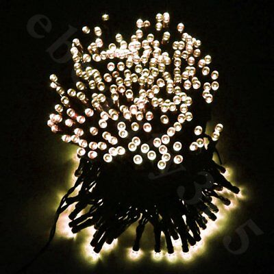 Outdoor LED String Lights Patio Party Home Yard Garden Wedding Solar Power White