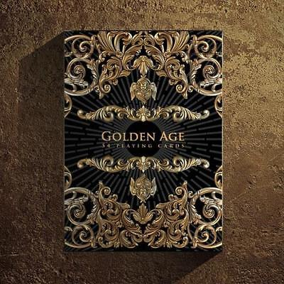 Golden Age Playing Cards Black Edition Gold Embossed tuck