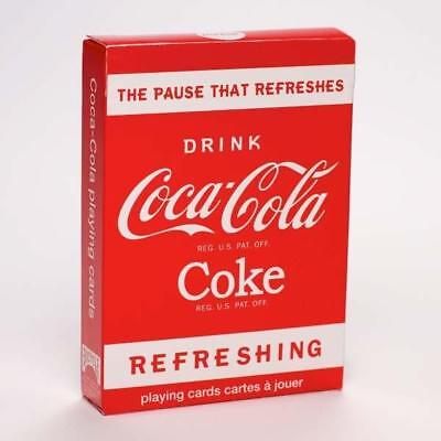 Coca Cola Coke Playing Cards the Pause the Refreshes made in USA