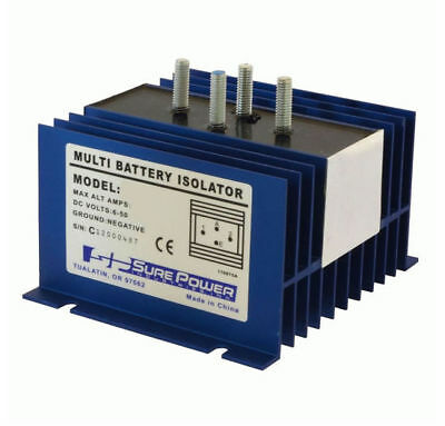 INSTALL BAY 95 Amp 4-Post Cooper Bussman Battery Isolator | IBSP9523