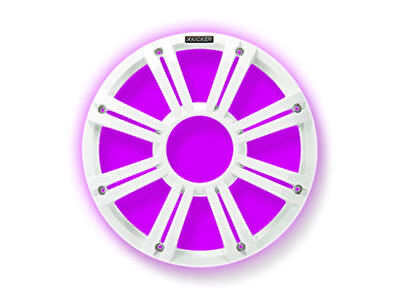 """KICKER 10"""" LED Grille for Kicker KM10 and KMF10 Subwoofers 