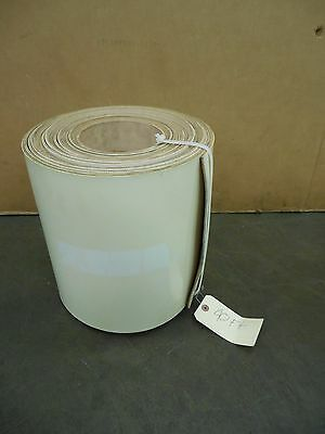 "No Name 12""x40' Ft White 3 Ply Neoprene Conveyor Belt Belting 3/16"" Thick"