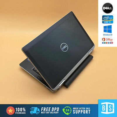 "Fast Cheap Dell Laptop Latitude 6330 Intel i5 13.3"" 320GB HDD 8GB RAM Windows 10"