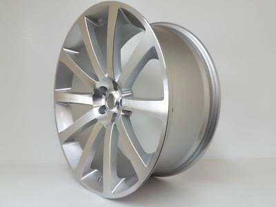 """22"""" silver ALLOY WHEELS for CHRYSLER 300C, DODGE CHARGER,CRD,SRT, with tyres"""