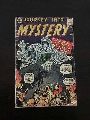 Journey Into Mystery #77  I Don't Believe In Ghosts!