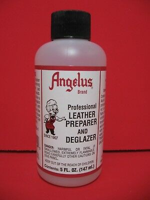 Angelus Leather Dye Professional Preparer & Deglazer - 4 FL. OZ.- NEW