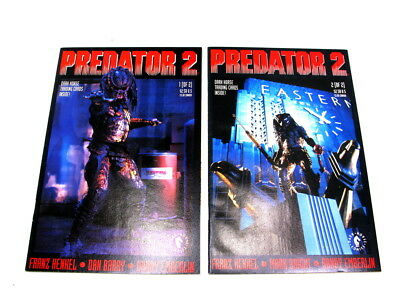 Dark Horse Predator 2 Complete Set 1 & 2 Near Mint
