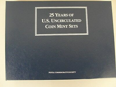 1964-1988 25 Years Of US Uncirculated Mint Sets U.S.Postal Commemorative Coins