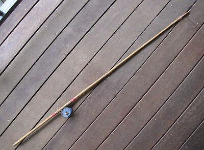 Vintage Childs Bamboo Toy ? Fishing Rod