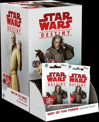 FFG Star Wars Destiny The Way of The Force Booster Box 36 packs *PRE-SALE*