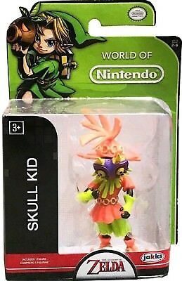 "Skull Kid Legend of Zelda World of Nintendo 2.5"" action figure Jakks Pacific"