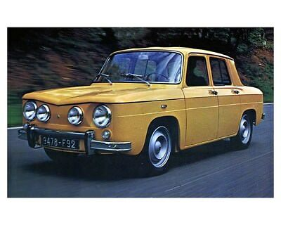 1971 Renault 8S Factory Photo ca9011