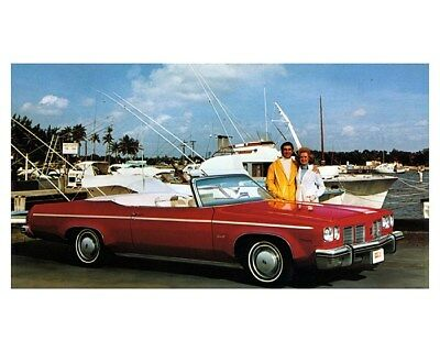 1975 Oldsmobile Delta 88 Royale Convertible Limited Edition Factory Photo ca8999
