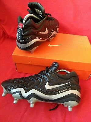 Nike World Champion  Rugby Boots size 9.5 eu 45.5 real leather zoom air