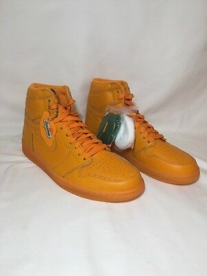 AIR JORDAN 1 RETRO HI OG G8RD Gatorade Orange Peel Men's Sz 11 (AJ5997 880)