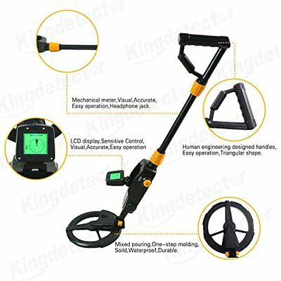 Metal Detector Digger Gold Search Sensitive Pointer Waterproof Outdoor King NEW