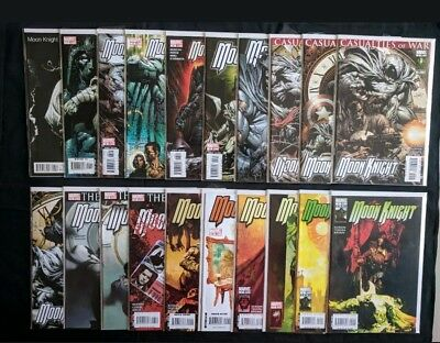 Moon Knight #1-30 (2006) Complete Series Run-Annual 1, Silent Knight,Saga