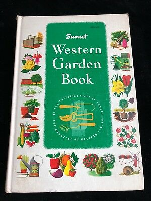 SUNSET WESTERN GARDEN Book of Easy Care Plantings by The Editors of ...