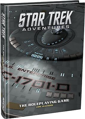 Modiphius Entertainment Star Trek Adventures Core Rulebook Collector's Ed... New