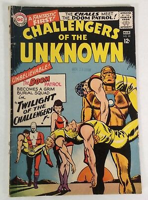 Challengers of the Unknown #48 (DC Mar 1966) SILVER AGE  12cents