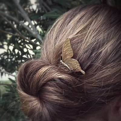 Elegance Fashion Women 1PC Comb Butterfly Hair Jewelry Headwear for CPDB12B17