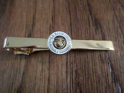 U.s Military Marine Corps Honorable Discharge Tie Bar Or Tie Tac Clip On Type
