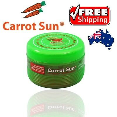 Carrot Sun Product Tanning Accelerator Cream 350ml Watermelon-FREE DELIVERY AUS