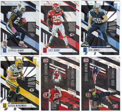 2017 Panini Unparalleled Football - Base and RC Cards - Choose Card #'s 1-300