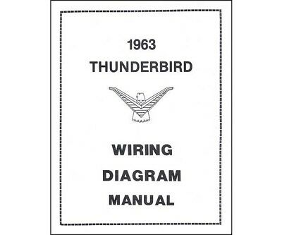 FORD THUNDERBIRD 1962 Manual Schaltplan Stromlaufplan Wiring Diagram ...