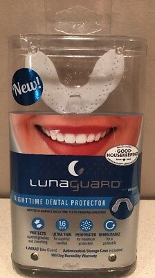 New LunaGuard Nighttime Dental Guard Protector 1 Adult Bite Guard. Free Shipping