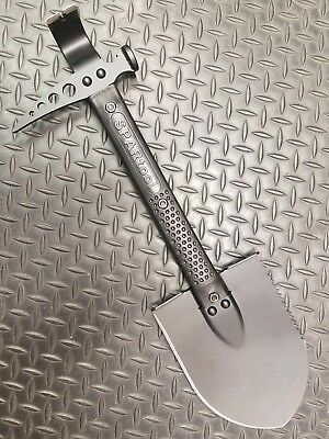 SPARtool Indestructible Multi tool Shovel Axe Saw Hammer Pick tool overlanding