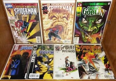 """Mixed Spider- Man Lot * VF- NM """"7 Books"""""""