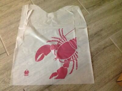 Lobster Disposable Bibs Adult Size  Box of 500